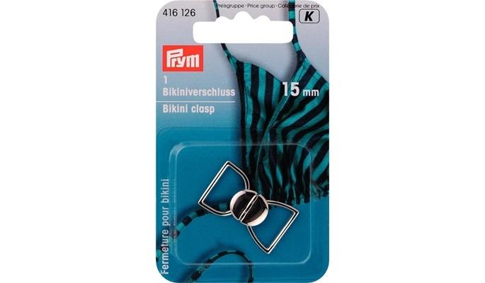 Prym - Bikiniverschluss Silber 416126