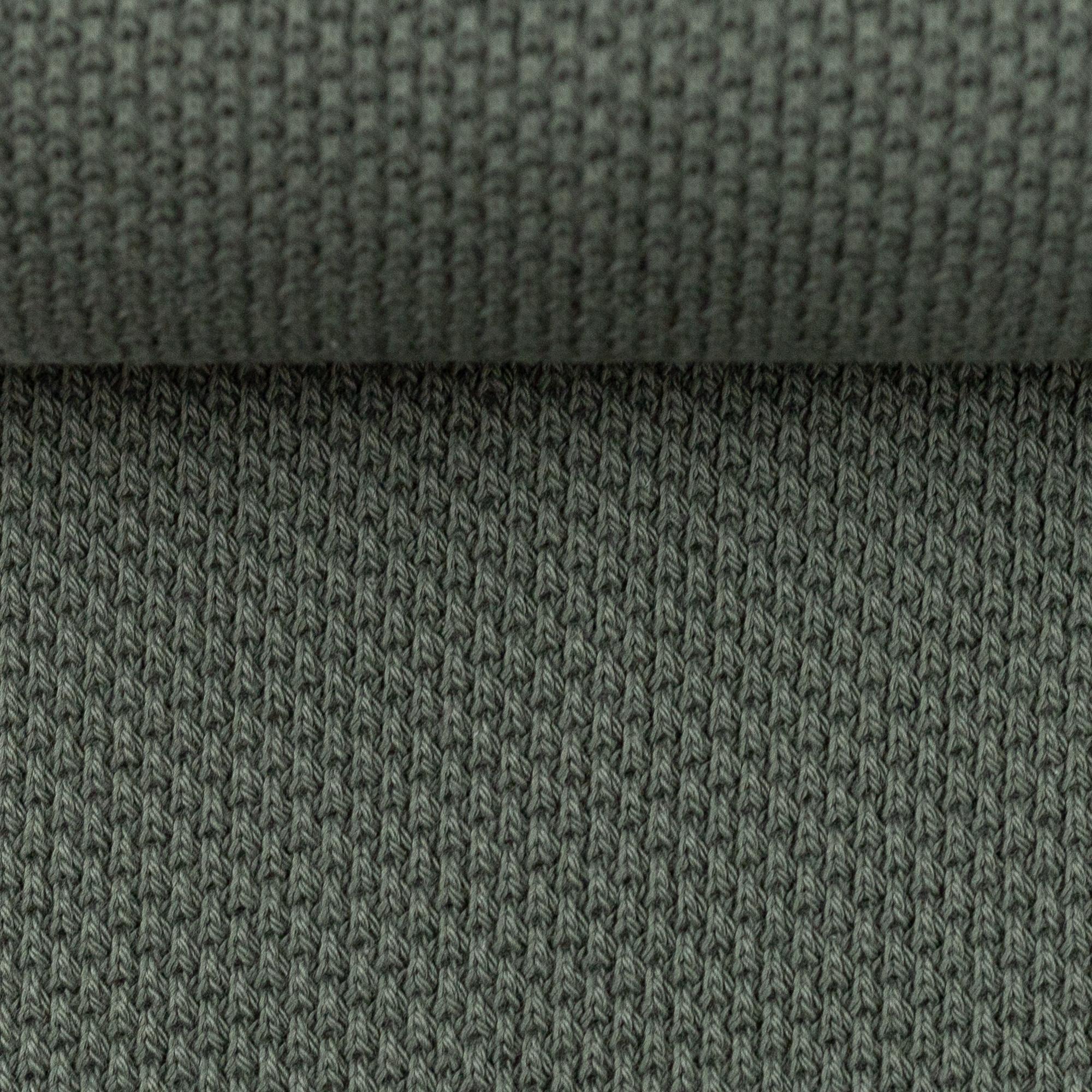 Strickstoff - Baumwollstrick - Swafing - Skadi - Khaki