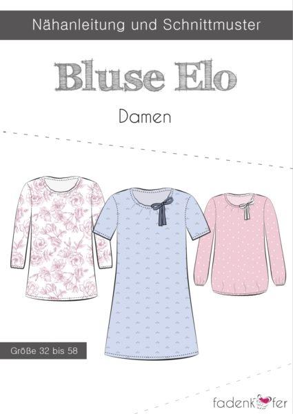 Papierschnittmuster Fadenkäfer - Bluse Elo - Damen