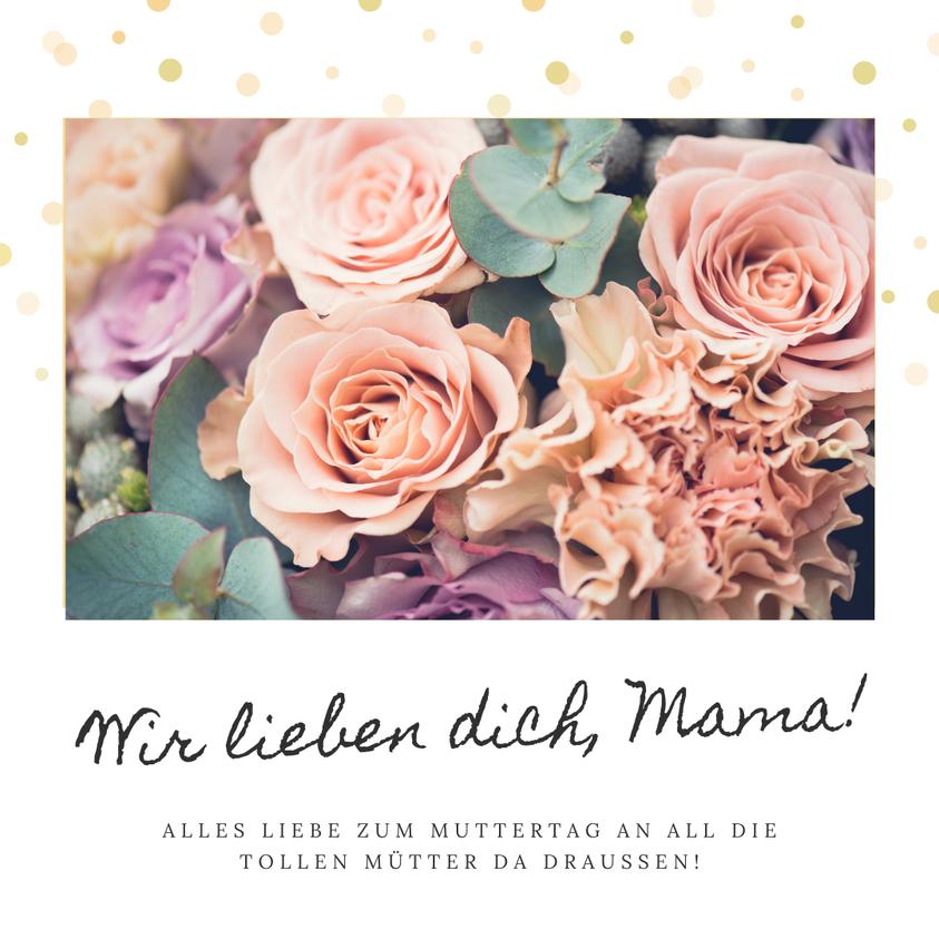 Wir wünschen alles Mamas ein ganz wunderbaren Muttertag. Ihr seid spitze! ❤️