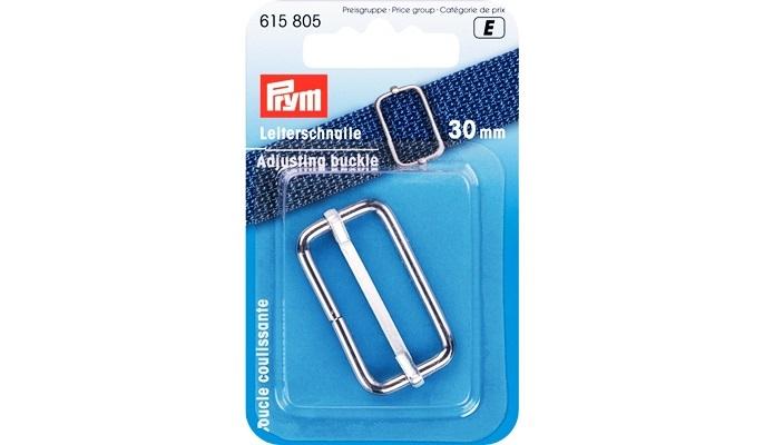 Prym - Leiterschnalle 30 mm silberfarbig