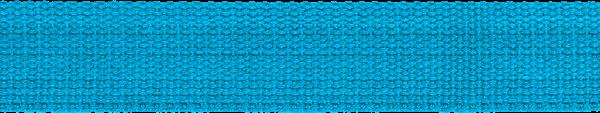 Hochwertiges Gurtband Baumwolle - Baumwollgurtband - 40mm - Türkis