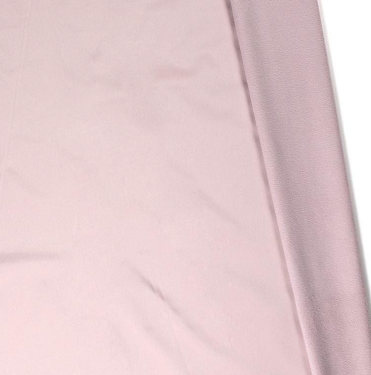 Softshell mit Plüschabseite - Uni - Helles Rose