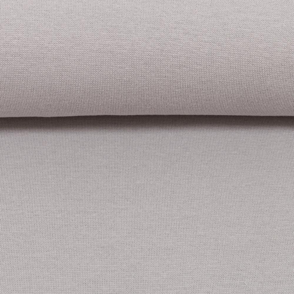 Heike, Schlauchware **Öko-Tex Standard 100**, Bündchen, uni, grau