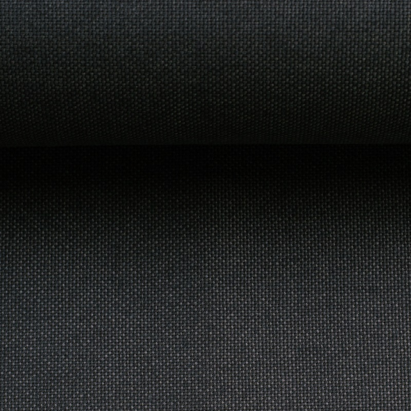 Canvas - Dekostoff - Leinenoptik - Swafing - Calvin - Uni - Anthrazit