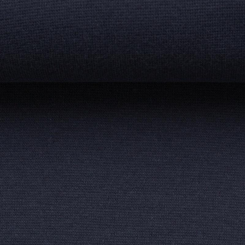 Heike, Schlauchware **Öko-Tex Standard 100**, Bündchen, uni, Dunkelblau