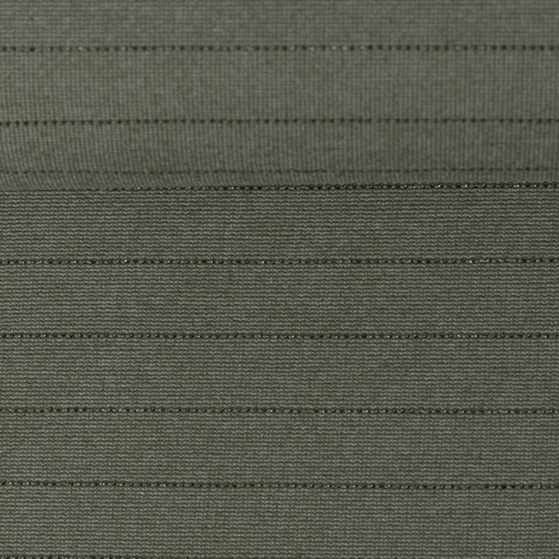 Interlock-Jersey - Jersey Stoff - Pia mit zarten Metallicstreifen - Swafing - Khaki