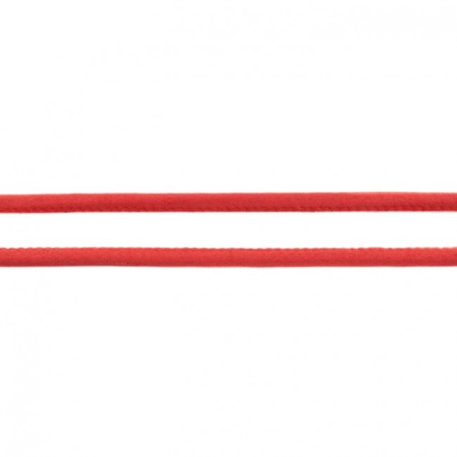 Luxus Wildleder Kordel Rot Ø 5 mm