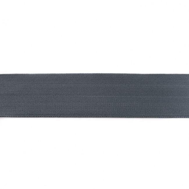 Gummiband 40mm - Uni Grau