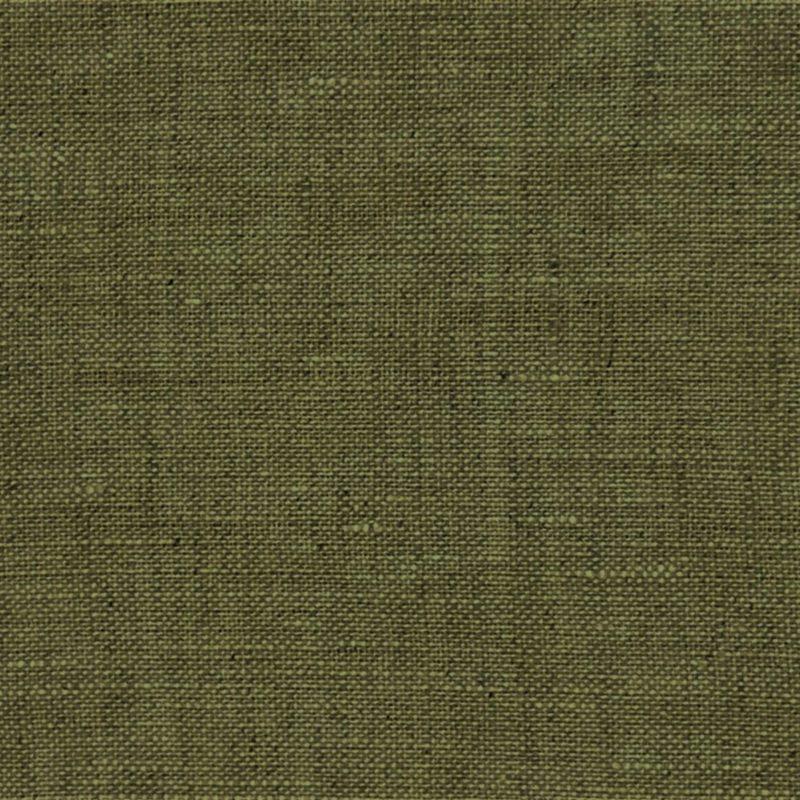 Leinen - Washed Linen - Dekostoff - Uni - Khaki