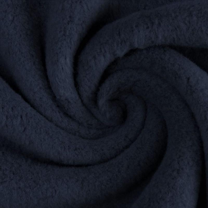 Fleece - Baumwollfleece - Uni - Navy