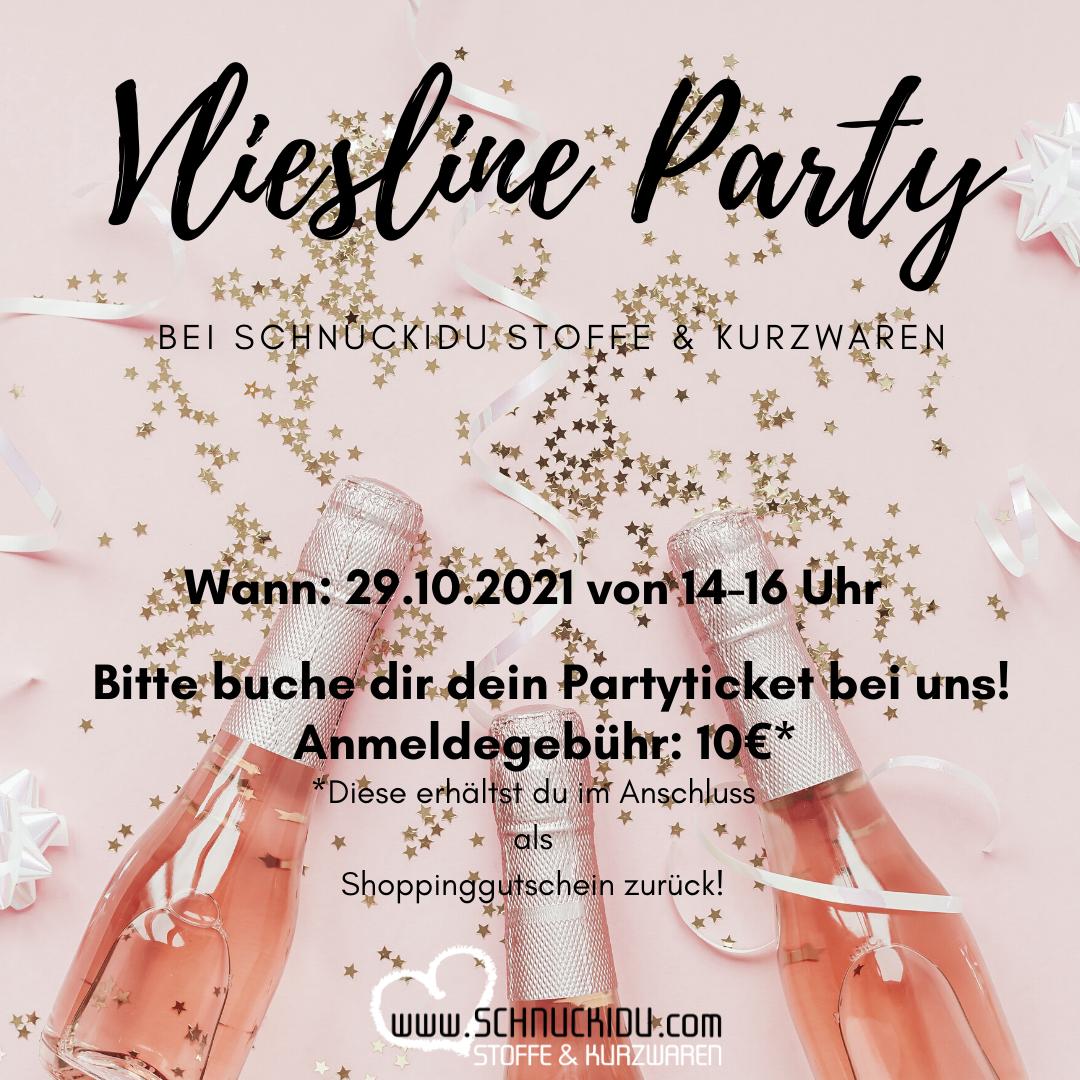 Schnuckidu - Vliesline Party - Partyticket