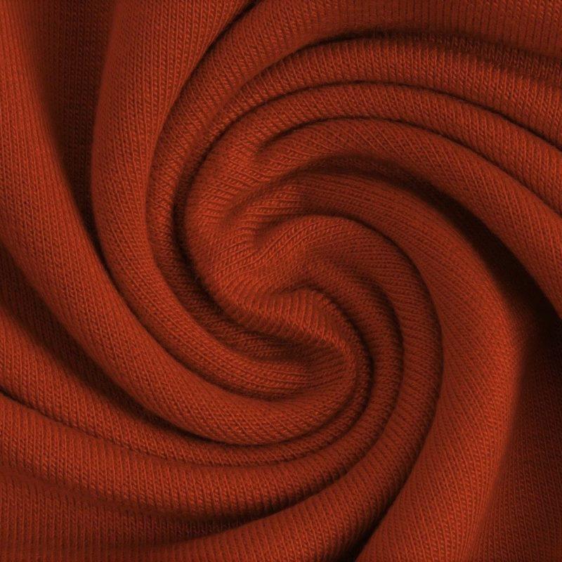Modal Jersey - Modal Stoff - Uni - dunkles Rost