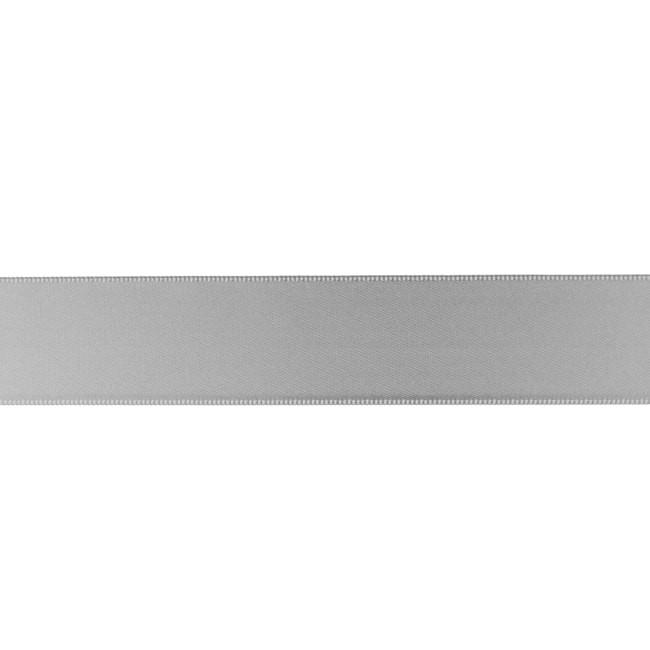 Satinband 25mm - Satin Luxe - Mittelgrau