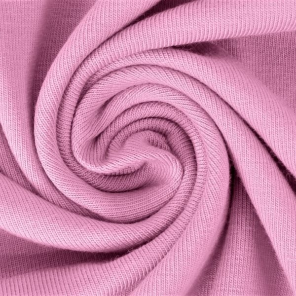 Sommersweat Stoff - French Terry - nicht angeraut - Rosa
