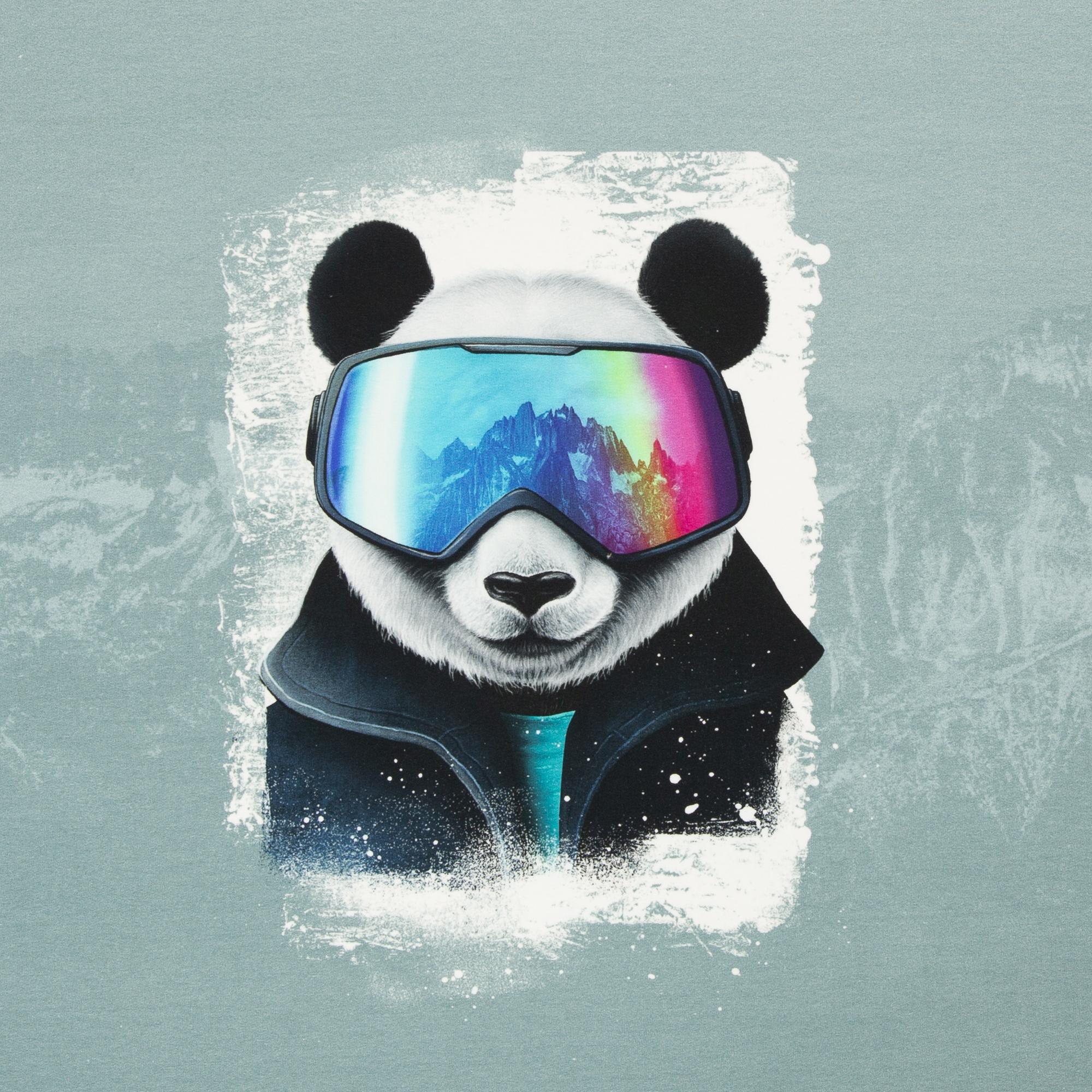 Thorsten Berger Panel - Snow Panda by Thorsten Berger - 80cm x 155cm