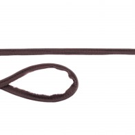Jersey Paspelband - Schokobraun