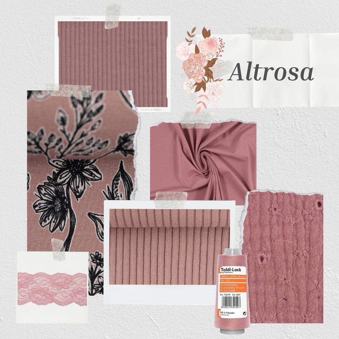 Inspiration - Farbwelten - Farbwelt Altrosa