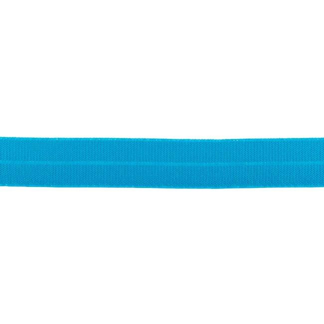 Elastisches Einfassband matt - Aqua