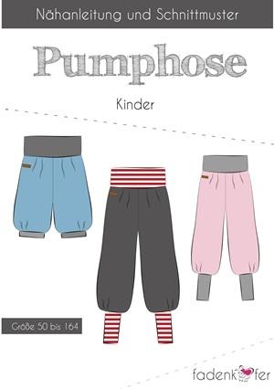 Papierschnittmuster Fadenkäfer - Pumphose für Kinder