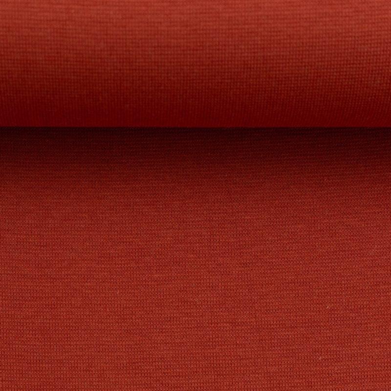 Bündchen - Schlauchware **Öko-Tex Standard 100** - Bündchen Stoff - Uni - Frühjahr/Sommer 2021 - Rost