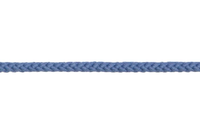Bademantelkordel / Baumwollkordel - 8mm blau