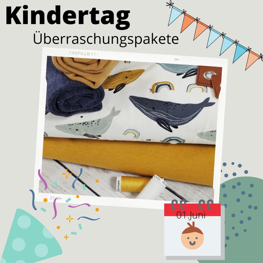 Ab sofort könnt ihr Überraschungspakete für den Kindertag am 01.Juni vorbestellen 🥳