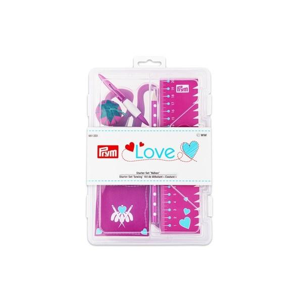 Prym Love Starter Set Nähen, pink 651223