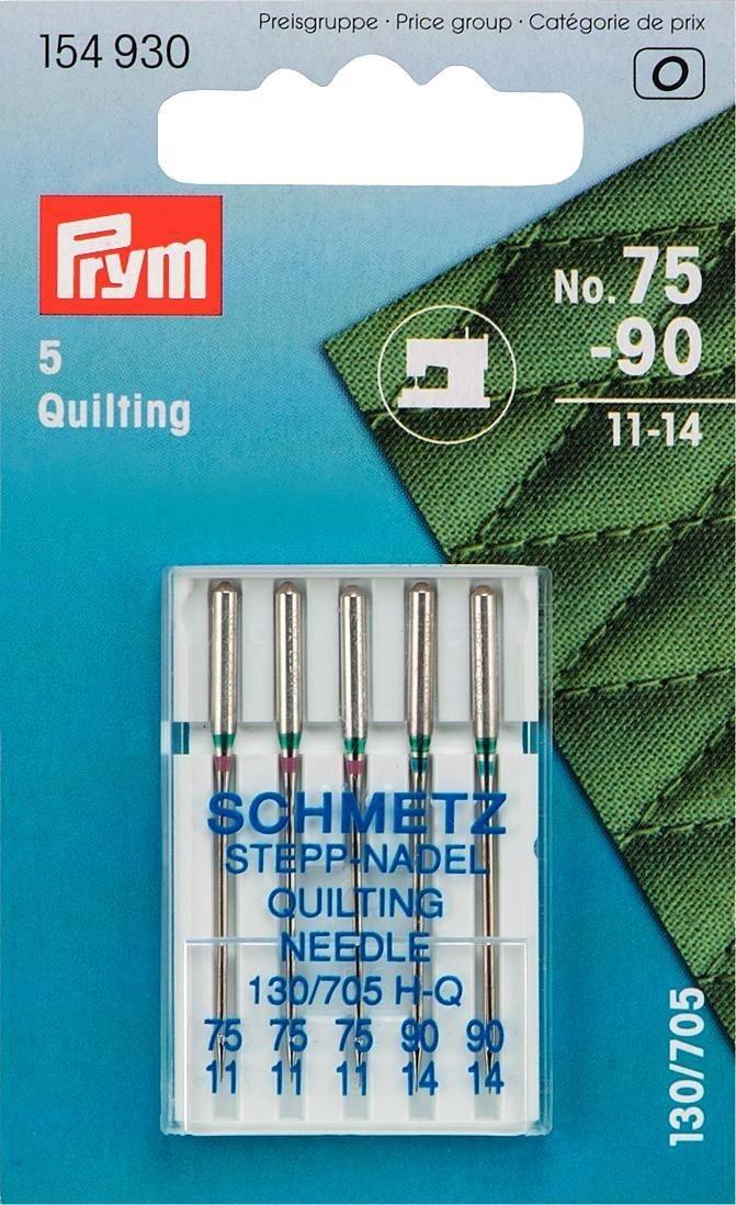 Prym Nähmaschinennadeln 130/705 Quilting 75+90