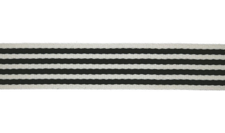 Taschengurtband - Gurtband - 40mm - Streifen - Marine