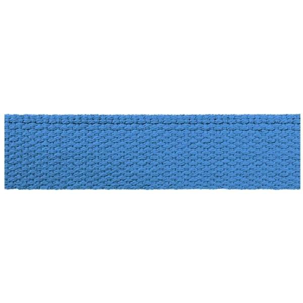 Hochwertiges Gurtband Baumwolle - Baumwollgurtband - 30mm - Blau