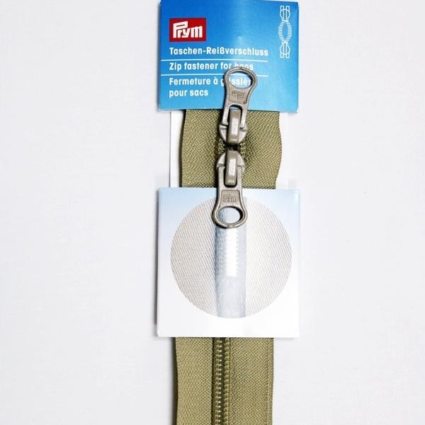 Prym - Reißverschluss S13, für Taschen, Zweiwege, unteilbar, 60cm,  beige 490866