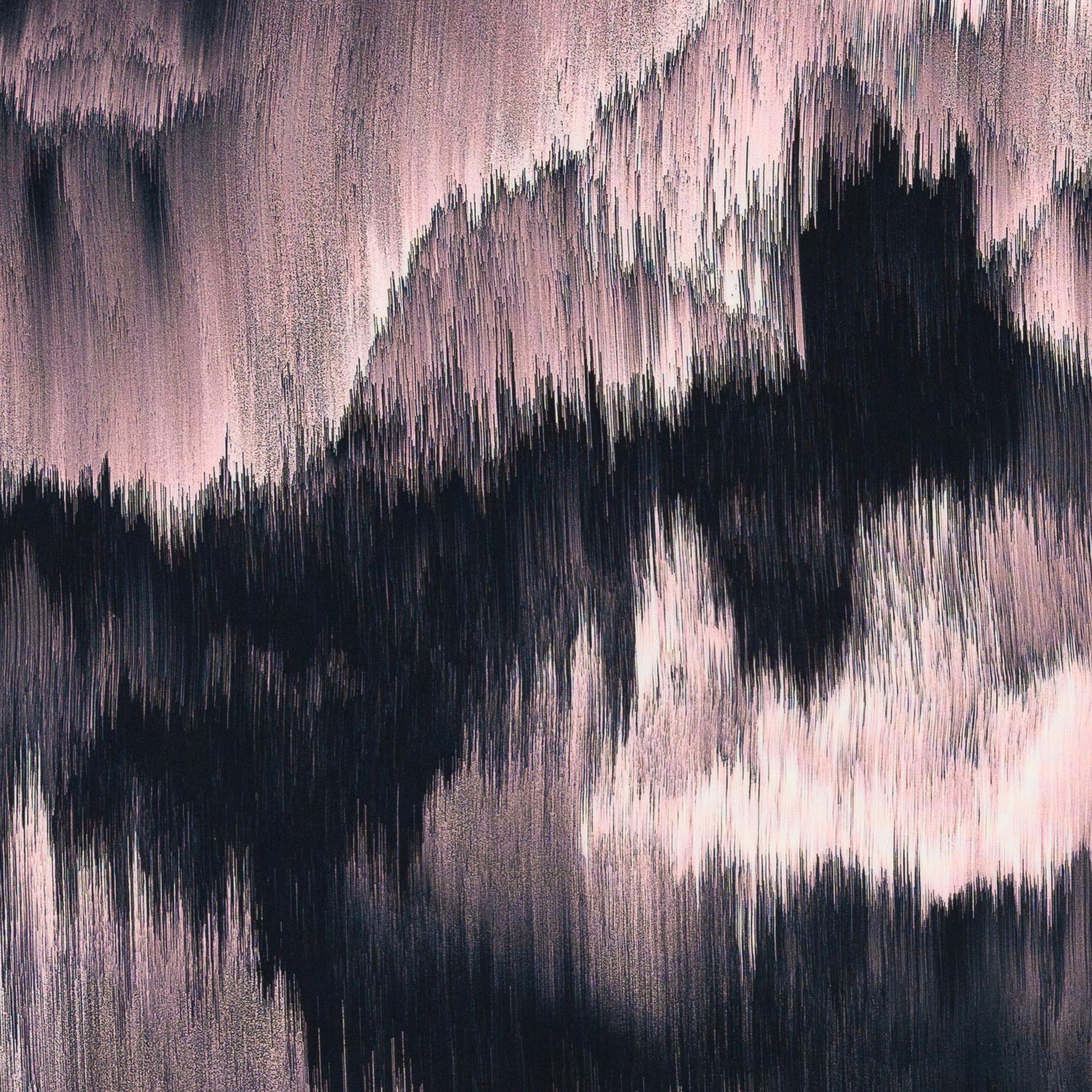 Viskose - Viskosewebware - Swafing - Dripstones by Thorsten Berger - Muster in Rosatönen