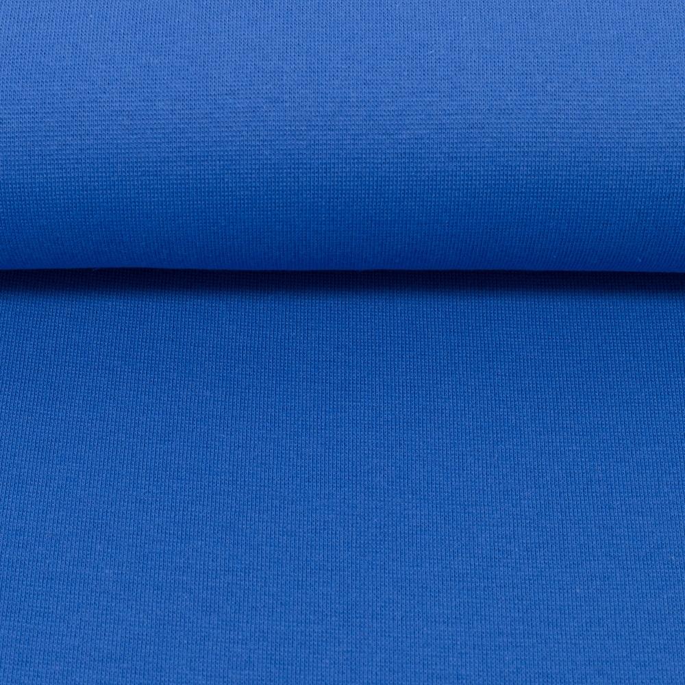 Heike, Schlauchware **Öko-Tex Standard 100**, Bündchen, uni, royalblau