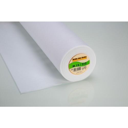 Vlieseline - Näheinlage M12 - Näheinlage - uni - weiß - Gut geeignet für Mund - Nasen - Schutze