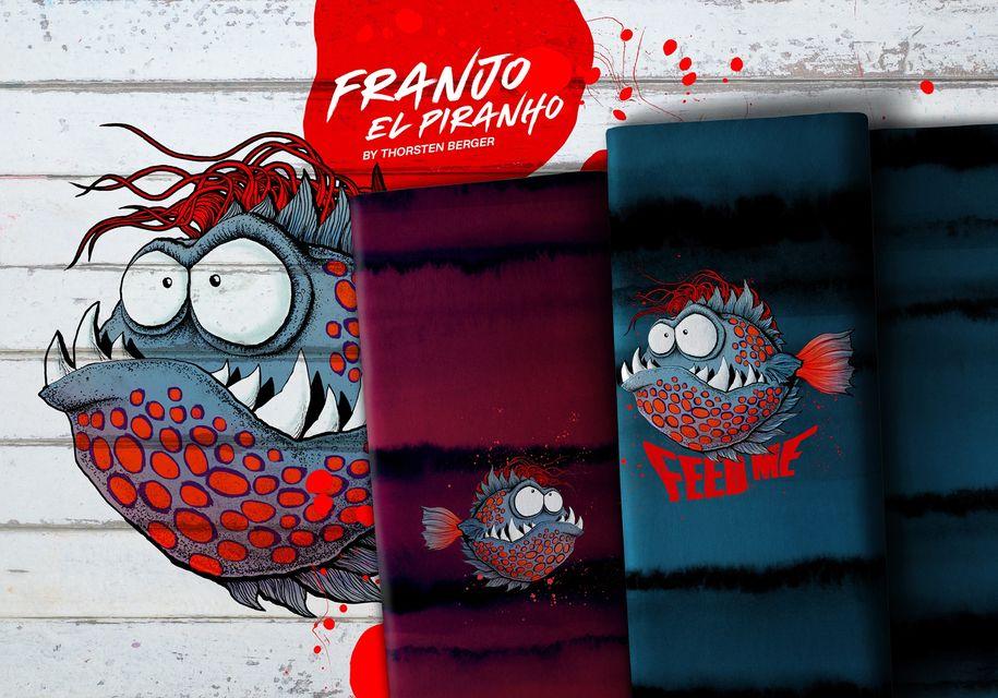 """Hast du Lust in die Unterwasserwelt von """"Franjo El Piranho"""" einzutauchen?"""