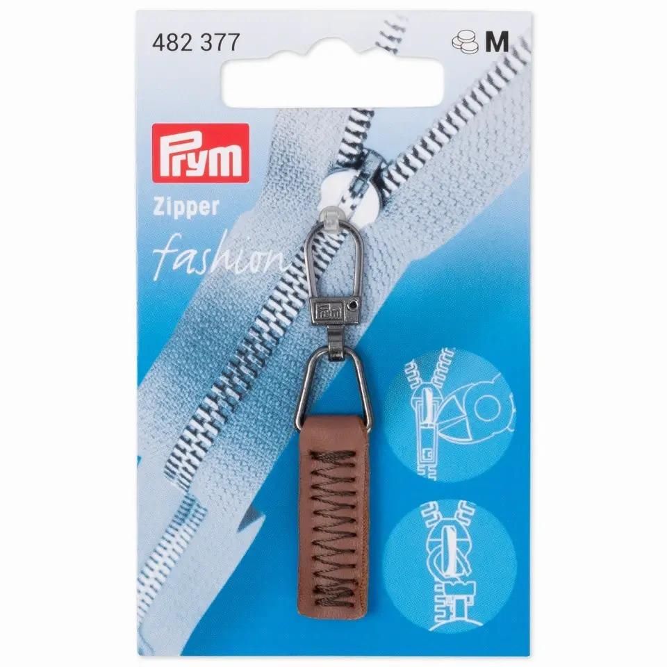 Prym Fashion Zipper - Lederimitat - camel - 482377