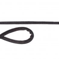Jersey Paspelband - Dunkelgrau meliert