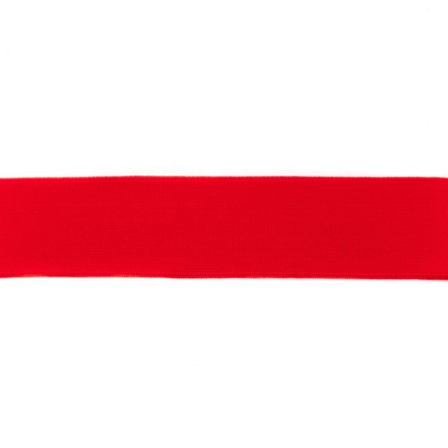 Gummiband 40mm - Uni Rot