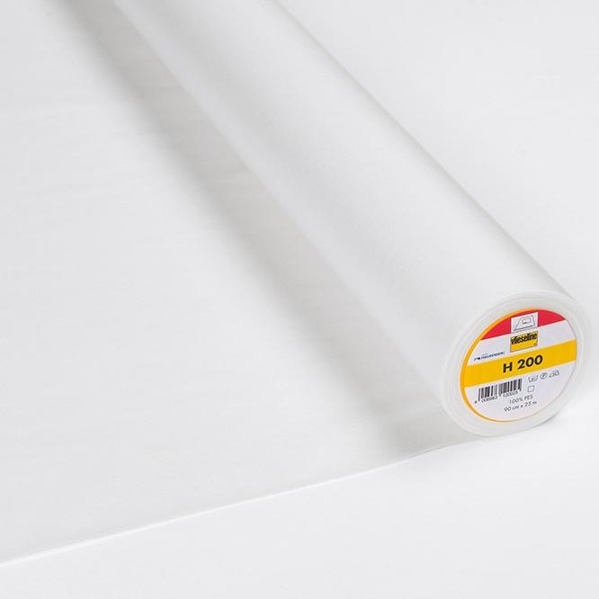Vlieseline - Bügeleinlage Softline H200 fixierbar - Breite 90 cm weiß