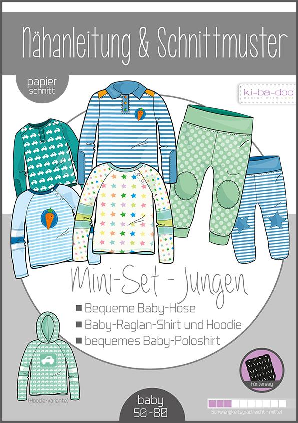 ki-ba-doo Schnittmuster - Baby Set Boy Gr. 50-80