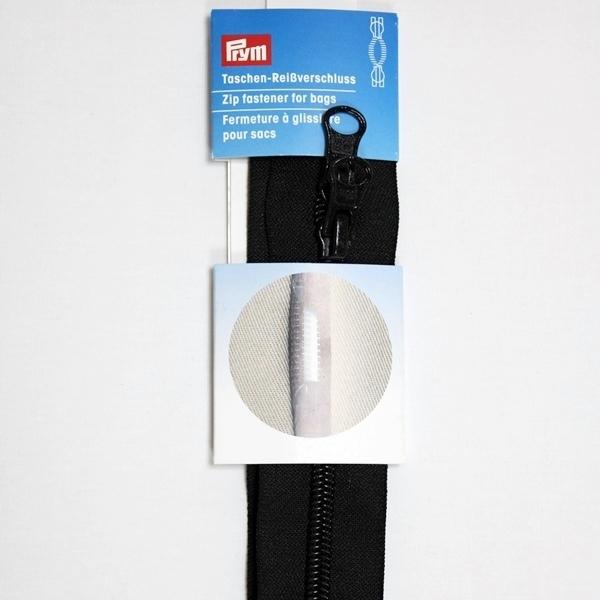 Prym - Reißverschluss S13, für Taschen, Zweiwege, unteilbar, 60cm,  schwarz 490860