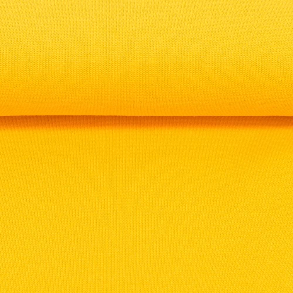 Heike, Schlauchware **Öko-Tex Standard 100**, Bündchen, uni, gelb