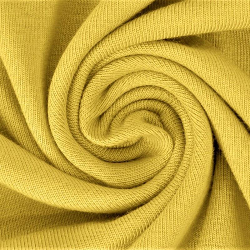 Baumwolljersey - Jersey Stoff Uni - New Fashion Color - Gelb