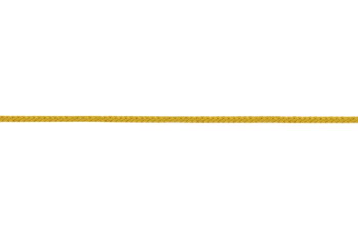 Flechtkordel 2 mm - ocker 653