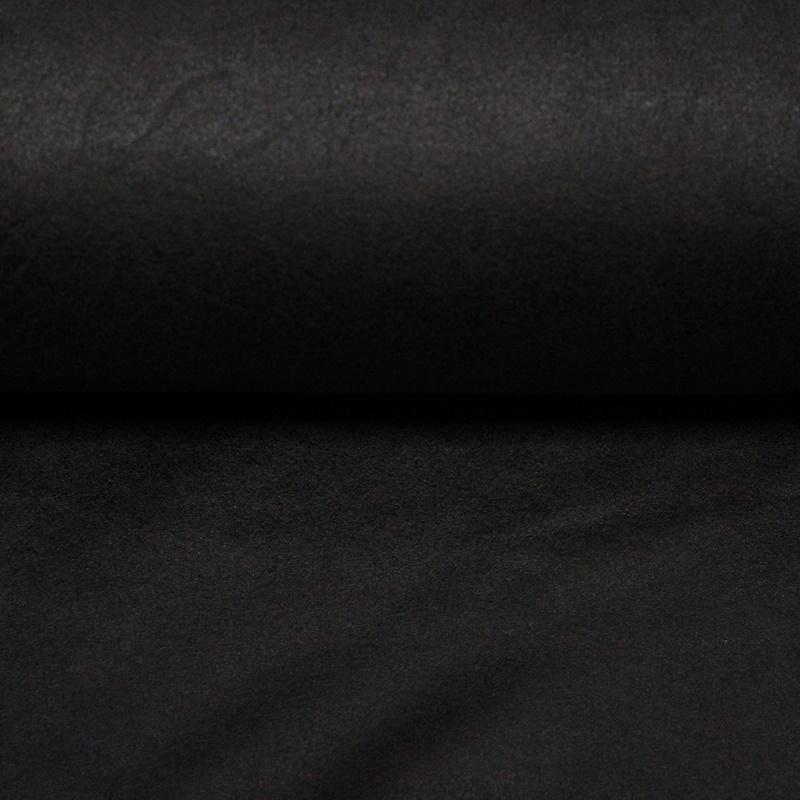 Wildlederimitat - Suede Stretch - Dunkelbraun
