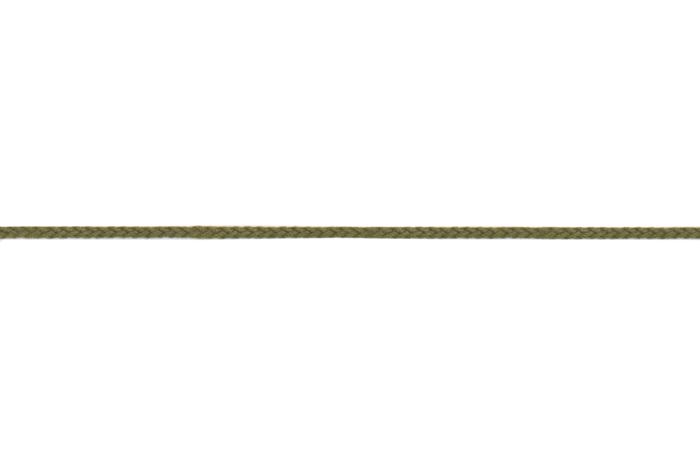 Flechtkordel 2 mm - olivgrün 542