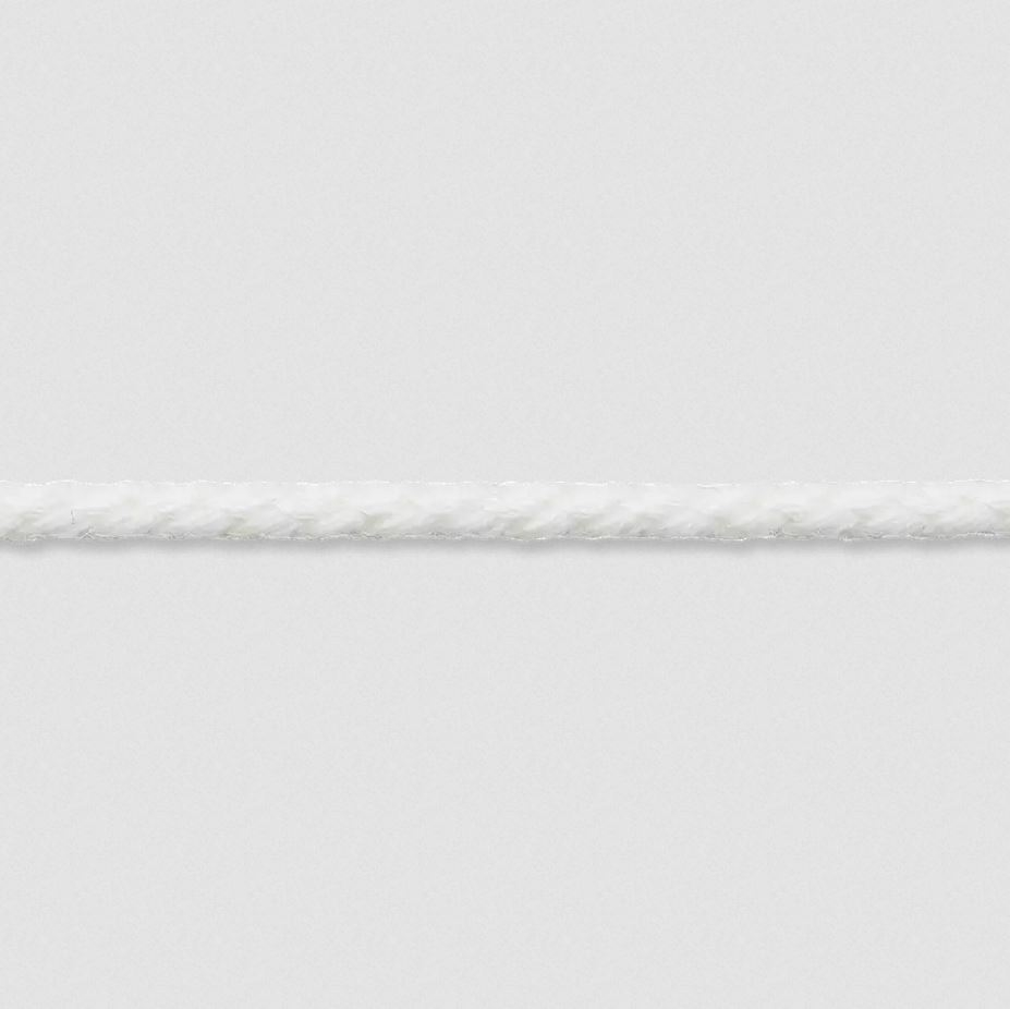 Kordel gedreht - Kordel - 3mm - Weiß