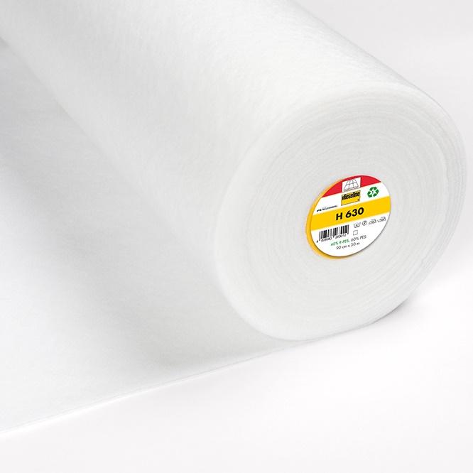 Volumenvlies H630 fixierbar - Breite 90 cm weiß