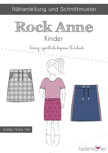 Papierschnittmuster Fadenkäfer - Rock Anne - Kinder